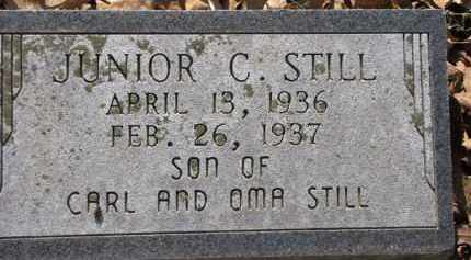 STILL, JUNIOR C. - Clark County, Arkansas | JUNIOR C. STILL - Arkansas Gravestone Photos