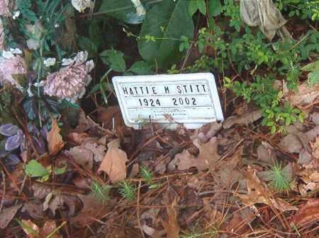 STITT, HATTIE M. - Clark County, Arkansas | HATTIE M. STITT - Arkansas Gravestone Photos