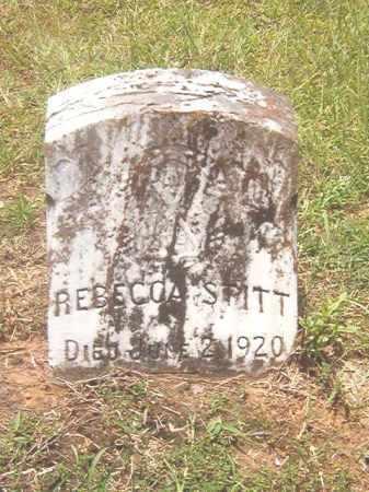 STITT, REBECCA - Clark County, Arkansas | REBECCA STITT - Arkansas Gravestone Photos