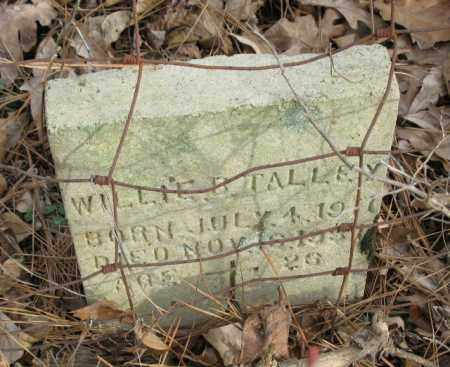 TALLEY, WILLIE B. - Clark County, Arkansas   WILLIE B. TALLEY - Arkansas Gravestone Photos