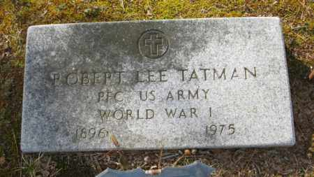 TATMAN (VETERAN WWI), ROBERT LEE - Clark County, Arkansas | ROBERT LEE TATMAN (VETERAN WWI) - Arkansas Gravestone Photos