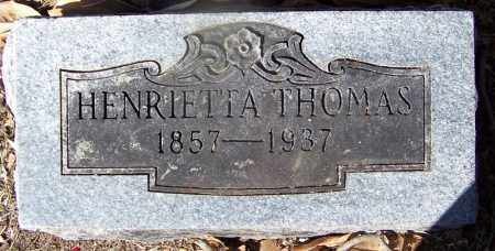 THOMAS, HENRIETTA - Clark County, Arkansas | HENRIETTA THOMAS - Arkansas Gravestone Photos