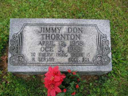 THORNTON, JIMMY DON - Clark County, Arkansas | JIMMY DON THORNTON - Arkansas Gravestone Photos