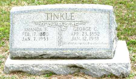 TINKLE, GEORGE C. - Clark County, Arkansas | GEORGE C. TINKLE - Arkansas Gravestone Photos