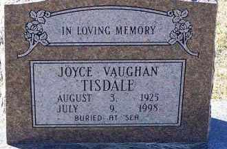 VAUGHAN TISDALE, JOYCE - Clark County, Arkansas | JOYCE VAUGHAN TISDALE - Arkansas Gravestone Photos
