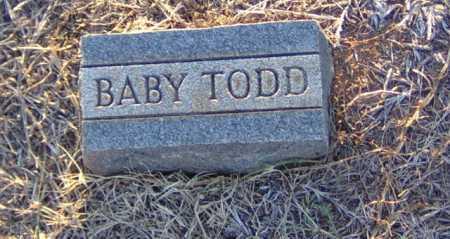 TODD, BABY - Clark County, Arkansas | BABY TODD - Arkansas Gravestone Photos
