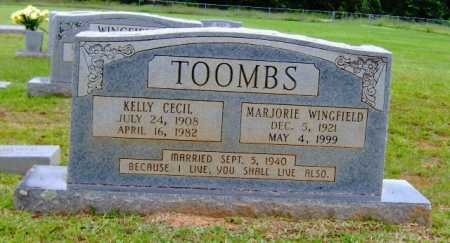 TOOMBS, KELLY CECIL - Clark County, Arkansas | KELLY CECIL TOOMBS - Arkansas Gravestone Photos