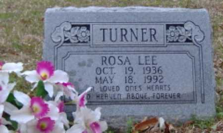 TURNER, ROSA LEE - Clark County, Arkansas | ROSA LEE TURNER - Arkansas Gravestone Photos