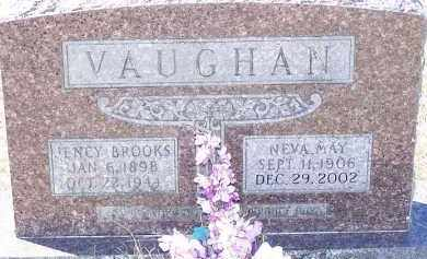 VAUGHAN, NEVA MAY - Clark County, Arkansas | NEVA MAY VAUGHAN - Arkansas Gravestone Photos