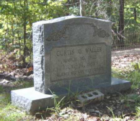 WALLER, CURTIS O - Clark County, Arkansas | CURTIS O WALLER - Arkansas Gravestone Photos