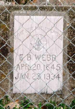 WEBB, ELIJAH B. - Clark County, Arkansas | ELIJAH B. WEBB - Arkansas Gravestone Photos