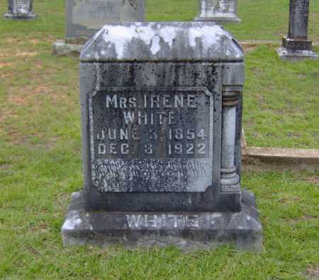 WHITE, IRENE - Clark County, Arkansas | IRENE WHITE - Arkansas Gravestone Photos