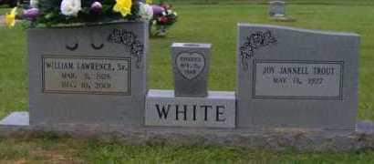 WHITE, SR (VETERAN WWII), WILLIAM LAWRENCE - Clark County, Arkansas   WILLIAM LAWRENCE WHITE, SR (VETERAN WWII) - Arkansas Gravestone Photos