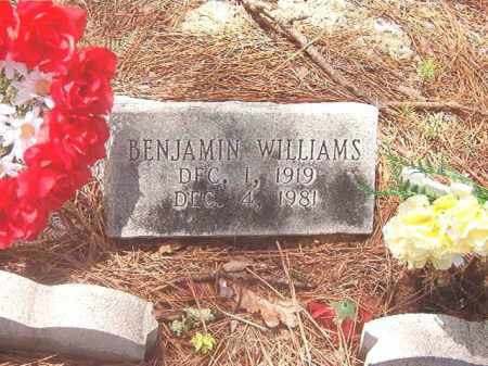 WILLIAMS, BENJAMIN - Clark County, Arkansas | BENJAMIN WILLIAMS - Arkansas Gravestone Photos