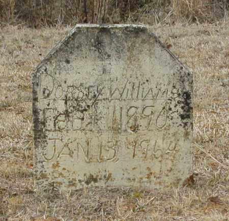WILLIAMS, DORSEY - Clark County, Arkansas | DORSEY WILLIAMS - Arkansas Gravestone Photos