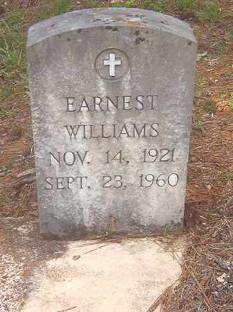 WILLIAMS, EARNEST - Clark County, Arkansas | EARNEST WILLIAMS - Arkansas Gravestone Photos