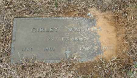 WILLIAMS (VETERAN), GIRLEY - Clark County, Arkansas | GIRLEY WILLIAMS (VETERAN) - Arkansas Gravestone Photos