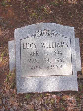 WILLIAMS, LUCY - Clark County, Arkansas | LUCY WILLIAMS - Arkansas Gravestone Photos