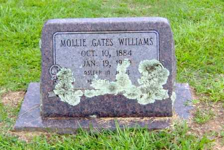 GATES WILLIAMS, MOLLIE - Clark County, Arkansas | MOLLIE GATES WILLIAMS - Arkansas Gravestone Photos