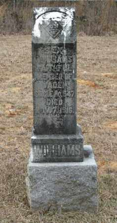WILLIAMS, SEX - Clark County, Arkansas | SEX WILLIAMS - Arkansas Gravestone Photos