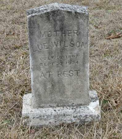 WILSON, LUE - Clark County, Arkansas   LUE WILSON - Arkansas Gravestone Photos