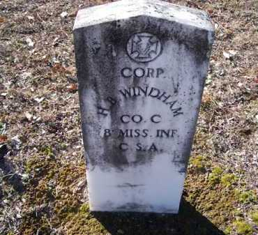 WINDHAM (VETERAN CSA), HOUSTON B - Clark County, Arkansas | HOUSTON B WINDHAM (VETERAN CSA) - Arkansas Gravestone Photos