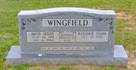 WINGFIELD, DAVID LESLEY - Clark County, Arkansas   DAVID LESLEY WINGFIELD - Arkansas Gravestone Photos