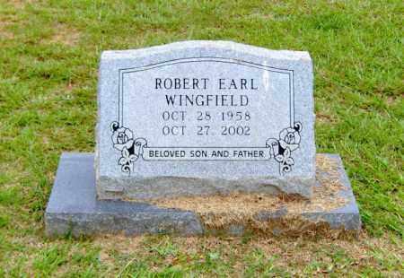 WINGFIELD, ROBERT EARL - Clark County, Arkansas | ROBERT EARL WINGFIELD - Arkansas Gravestone Photos
