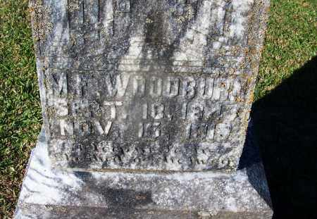 WOODBURN (VETERAN CSA), J D - Clark County, Arkansas | J D WOODBURN (VETERAN CSA) - Arkansas Gravestone Photos
