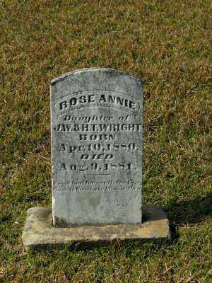 WRIGHT, ROSE ANNIE - Clark County, Arkansas | ROSE ANNIE WRIGHT - Arkansas Gravestone Photos