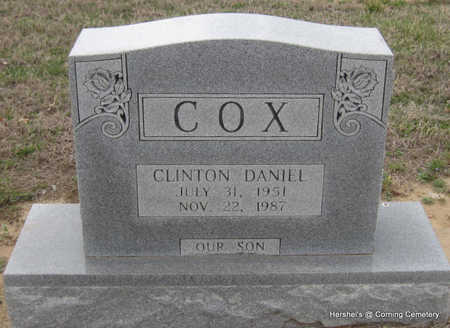 COX, CLINTON DANIEL - Clay County, Arkansas | CLINTON DANIEL COX - Arkansas Gravestone Photos