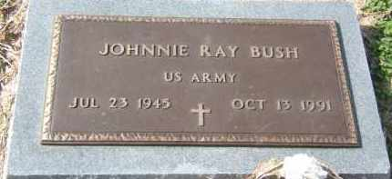 BUSH (VETERAN), JOHNNIE RAY - Clay County, Arkansas | JOHNNIE RAY BUSH (VETERAN) - Arkansas Gravestone Photos