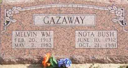 GAZAWAY, MELVIN - Clay County, Arkansas | MELVIN GAZAWAY - Arkansas Gravestone Photos