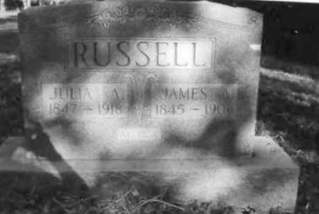 RUSSELL, JULIA A. - Clay County, Arkansas | JULIA A. RUSSELL - Arkansas Gravestone Photos