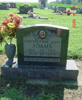 ADAMS, CHRISTOPHER ALVIN - Clay County, Arkansas | CHRISTOPHER ALVIN ADAMS - Arkansas Gravestone Photos