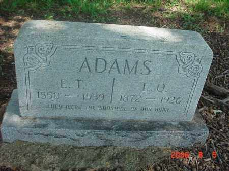 ADAMS, E THOMAS - Clay County, Arkansas | E THOMAS ADAMS - Arkansas Gravestone Photos