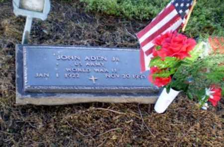ADEN  (VETERAN WWII), JOHN - Clay County, Arkansas | JOHN ADEN  (VETERAN WWII) - Arkansas Gravestone Photos
