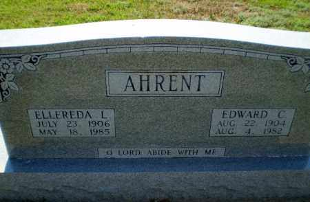 AHRENT, ELLEREDA L - Clay County, Arkansas | ELLEREDA L AHRENT - Arkansas Gravestone Photos