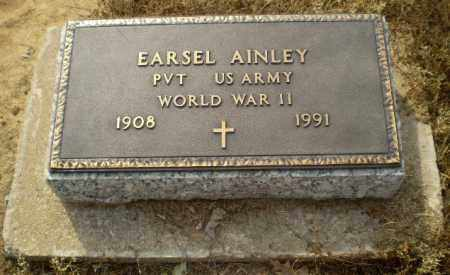AINLEY  (VETERAN WWII), EARSEL - Clay County, Arkansas | EARSEL AINLEY  (VETERAN WWII) - Arkansas Gravestone Photos