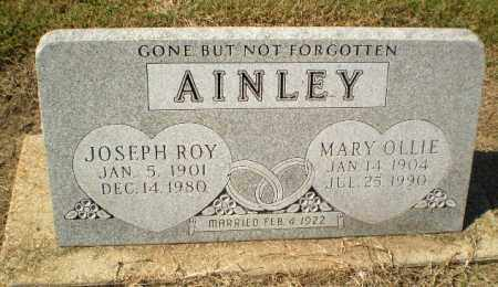 AINLEY, MARY OLLIE - Clay County, Arkansas | MARY OLLIE AINLEY - Arkansas Gravestone Photos