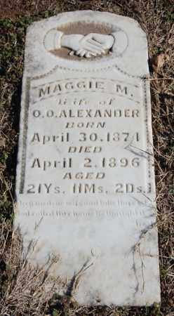 ALEXANDER, MAGGIE M. - Clay County, Arkansas | MAGGIE M. ALEXANDER - Arkansas Gravestone Photos