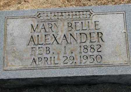 ALEXANDER, MARY BELLE - Clay County, Arkansas | MARY BELLE ALEXANDER - Arkansas Gravestone Photos