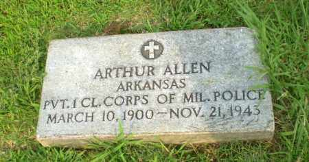 ALLEN  (VETERAN), ARTHUR - Clay County, Arkansas | ARTHUR ALLEN  (VETERAN) - Arkansas Gravestone Photos