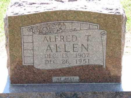 ALLEN, ALFRED T. - Clay County, Arkansas | ALFRED T. ALLEN - Arkansas Gravestone Photos