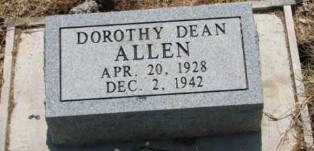 ALLEN, DOROTHY DEAN - Clay County, Arkansas | DOROTHY DEAN ALLEN - Arkansas Gravestone Photos