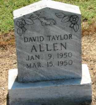 ALLEN, DAVID TAYLOR - Clay County, Arkansas | DAVID TAYLOR ALLEN - Arkansas Gravestone Photos
