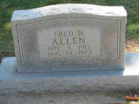 ALLEN, FRED N. - Clay County, Arkansas | FRED N. ALLEN - Arkansas Gravestone Photos