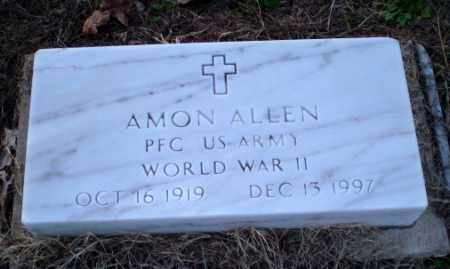 ALLEN (VETERAN WWII), AMON - Clay County, Arkansas | AMON ALLEN (VETERAN WWII) - Arkansas Gravestone Photos