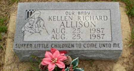 ALLISON, KELLEN - Clay County, Arkansas | KELLEN ALLISON - Arkansas Gravestone Photos