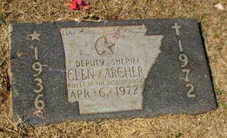ARCHER (PUBLIC SERVANT), GLENDALE RAY - Clay County, Arkansas | GLENDALE RAY ARCHER (PUBLIC SERVANT) - Arkansas Gravestone Photos